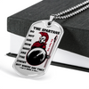 Warrior - Spartan - The Spartans Do Not Ask How Many Are The Enemy But Where Are They 2 - Military Ball Chain - Luxury Dog Tag