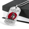 Knight Templar - Be Without Fear 2 - English - Military Ball Chain - Luxury Dog Tag