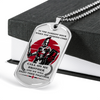 Knight Templar - Call On Me Brother 3 - English - Military Ball Chain - Luxury Dog Tag