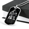 Knight Templar - IF - Show No Mercy - Galaxy - Military Ball Chain - Luxury Dog Tag