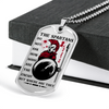 Warrior - Spartan - The Spartans Do Not Ask How Many Are The Enemy But Where Are They 3 - Military Ball Chain - Luxury Dog Tag