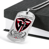 Knight Templar - Call On Me Brother 2 - English - Military Ball Chain - Luxury Dog Tag