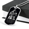 Knight Templar - IF - Show No Mercy - Black - Military Ball Chain - Luxury Dog Tag