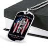 Soldier - Stand For The Flag US - Military Ball Chain - Luxury Dog Tag