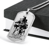 Knight Templar - I'm Not Going To Lose - Military Ball Chain - Luxury Dog Tag