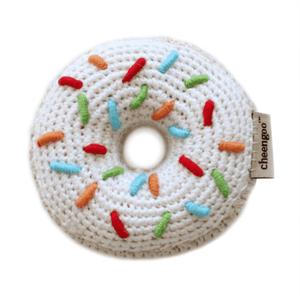 Cheengoo Donut Baby Rattle | Eco-friendly & Organic