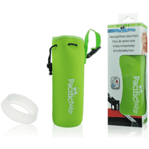 Pacific Baby Feeding Bottle Protection Pack Green