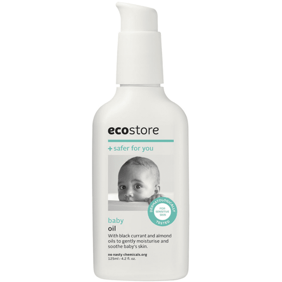 Ecostore Baby Oil - Perfect for Baby Massage, Cradle Cap, and Stretch Marks