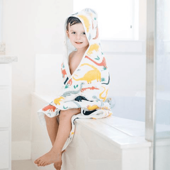 Captain Silly Pants Organic Babies and Kids Hooded Towel