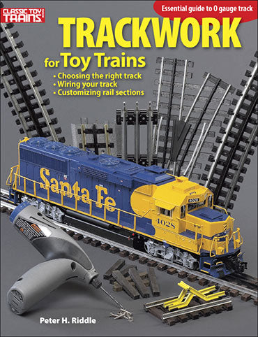 Kalmbach Books Trackwork for Toy Trains