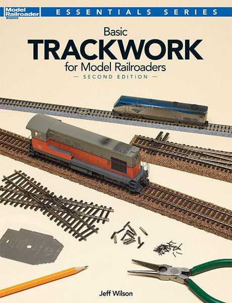 Kalmbach Books Basic Trackwork for Model Railroaders 2nd Edition