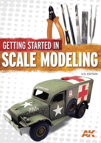 Kalmbach Books Getting Started in Scale Modeling US Edition