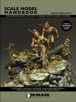 Mr. Black Publications Scale  Model Handbook: Figure Modelling Vol. 14