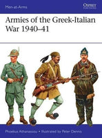 Osprey Publishing Men at Arms: Armies of the Greek-Italian War 1940-41