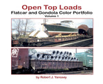 Morning Sun Open-Top Loads: Flatcar and Gondola Color Portfolio Volume 1