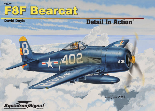 Squadron Signal F8F Bearcat Detail In Action