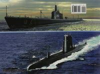 Squadron Signal Gato-Class Submarines In Action.