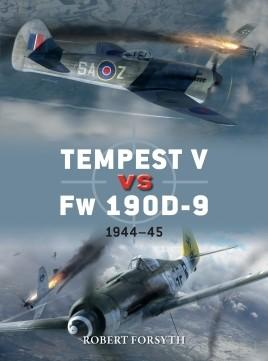 Osprey Publishing Duel: Tempest V vs Fw190D9 1944-45