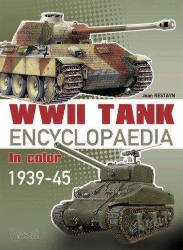 Casemate Books WWII Tank Encyclopaedia in Color 1939-45 (Hard Cover)