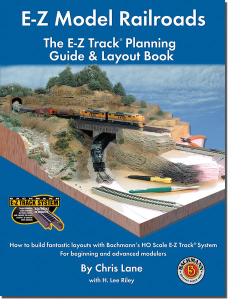 Bachmann HO E-Z Model Railroads Track Planning Guide & Layout Book
