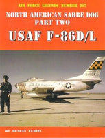 Ginter Air Force Legends: North American Sabre Dog Pt.2 USAF F86D/L