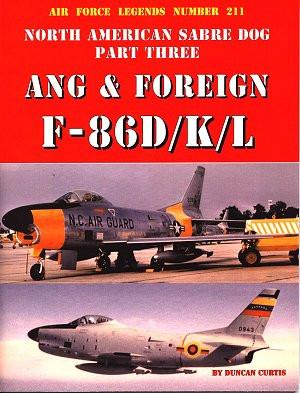 Ginter Air Force Legends: North American Sabre Dog Pt.3 ANG & Foreign F86D/K/L