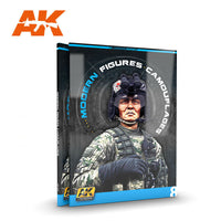 AK Interactive Books - Learning Series 7: Modern Figures Camouflages Book