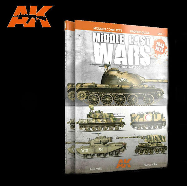AK Interactive Modern Conflicts Vol.1: Middle East Wars 1948-1973 Profile Guide Book