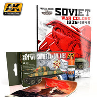 AK Interactive Books - Soviet War Colors 1936-1945 Profile Guide Book