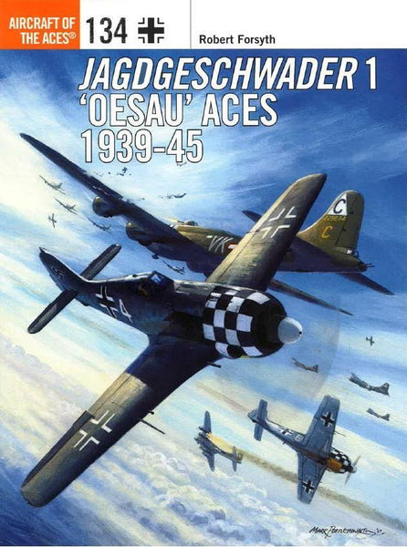 Osprey Publishing Aircraft of the Aces: Jagdgeschwader 1 Oesau Aces 1939-45