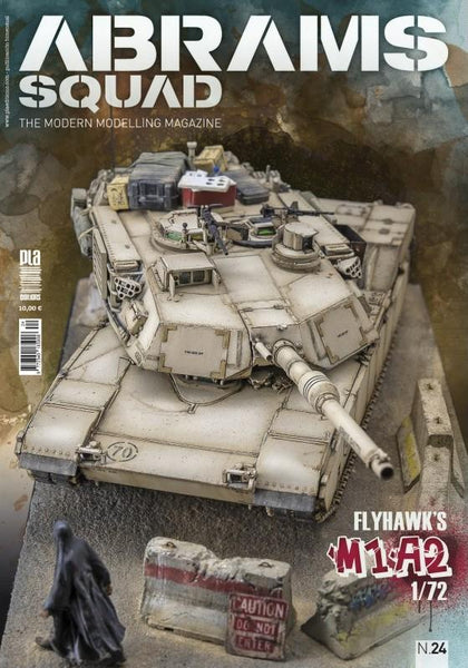 PLA Editions Abrams Squad: The Modern Modelling Magazine #24