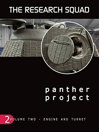 AFV Modeler The Research Squad: Panther Project Vol. 2 Engine & Turret