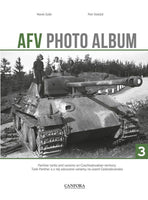 Canfora Publishing AFV Photo Album Vol.3: Panther Tanks & Variants on Czech Territory