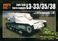 Auriga Publishing Photo File Large 2: Light Tank L3-33/35/38 & L6/Semovente L40