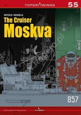 Kagero Books Topdrawings: The Cruiser Moskva