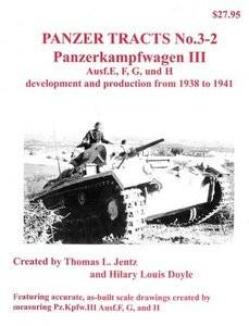 Panzer Tracts No.3-2 PzKpfw III Ausf E/F/G/H