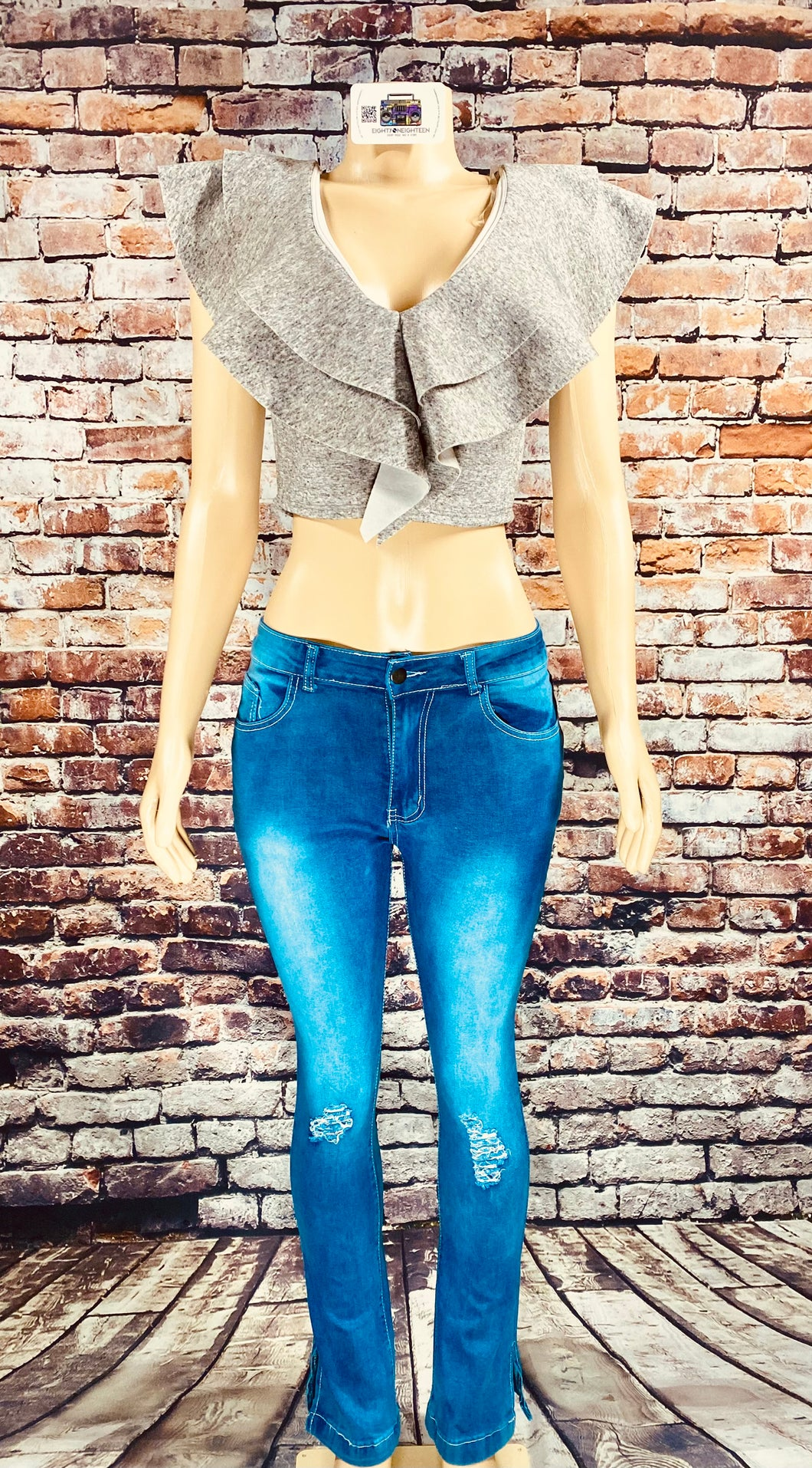 LONDON FLARE JEANS