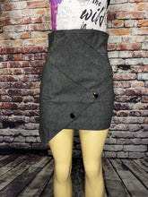 Load image into Gallery viewer, LEAF DENIM SKIRT (2 Colors)