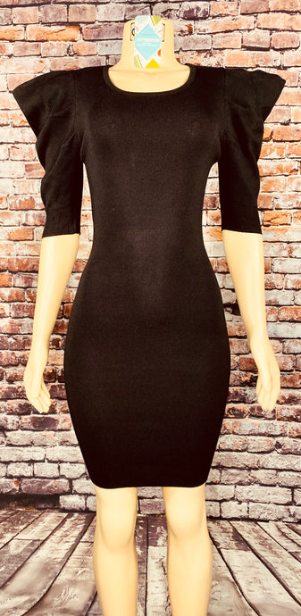 NANI PUFF SLEEVE DRESS (2 colors) - Eightyoneighteen