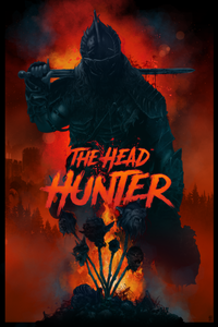 The Head Hunter Poster by Vance Kelly - 24x36 - Blue
