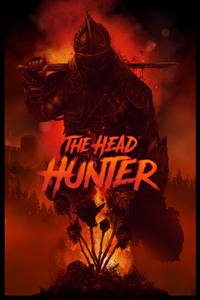 The Head Hunter Poster by Vance Kelly - 24 x36 - Red