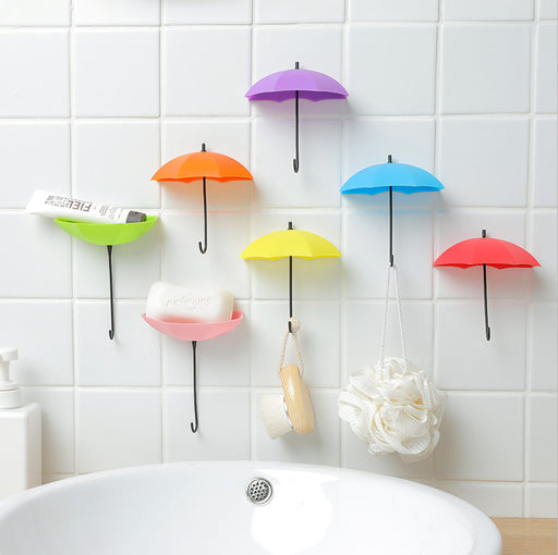 3pcs Umbrella Shaped Creative Hook
