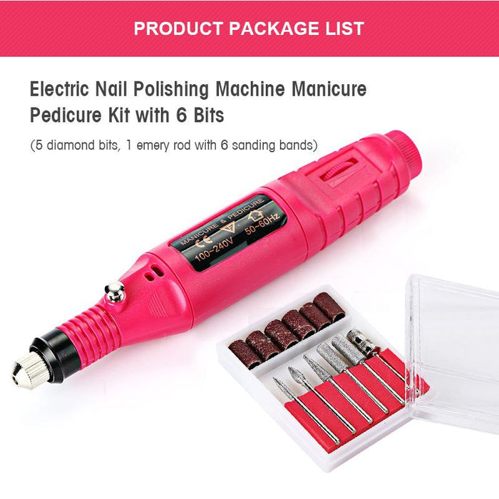 Nail Art Electric Nails Repair Drill Machine Set