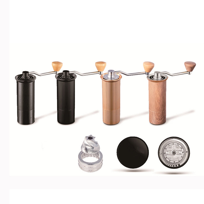 50MM Manual Coffee grinder Stainless steel Burr grinder Conical Coffe bean miller Manual Coffee Milling machine