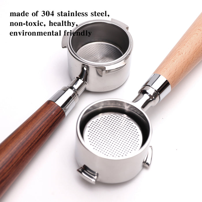 51/54mm Bottomless Portafilter Professional Coffee Espresso Machine Handle, Coffee Tools