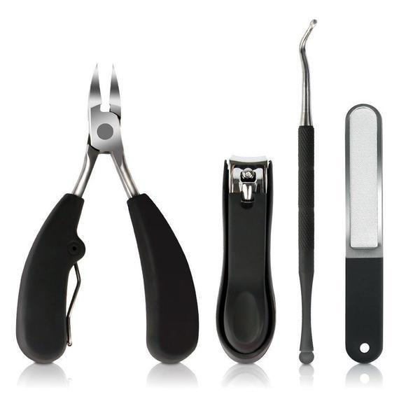 【50% OFF TODAY!!】PRECISION TOENAIL CLIPPERS FOR THICK OR INGROWN TOENAILS BEST NAIL CLIPPER & PEDICURE TOOL FOR SENIORS