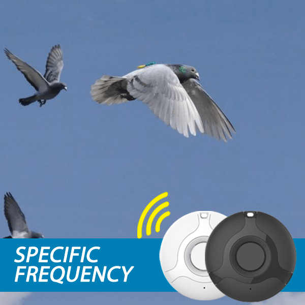 USB charging - Ultrasonic Bird Repeller