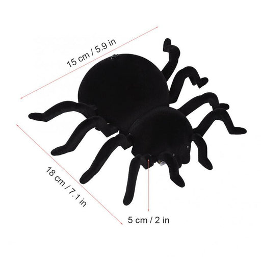 18*15*5cm Mini RC Spider Toy Remote Control Tarantula Spider Kids Electric Toy Wall Climbing RC Animals Toys for Children