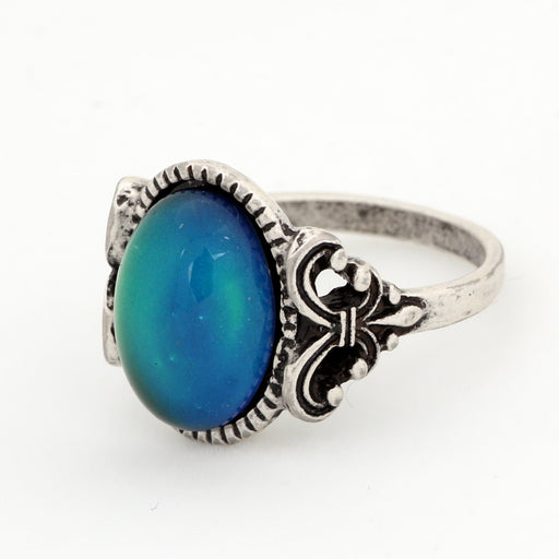 Color Change Mood Stone Ring Emotion Feeling Temperature Control magic Ring