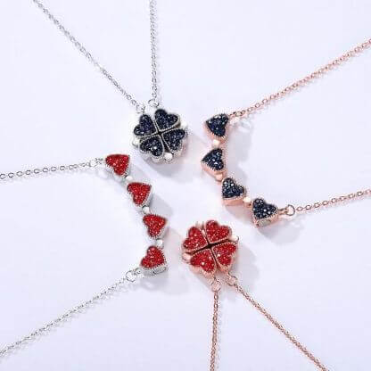 LUCKY CLOVER 2 in 1 necklace
